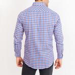 John Gingham Button Up // Blue (XL)