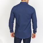 Blanc // Royal Button Up // Royal Blue (2X-Large)