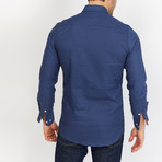 Horton Slate Button Down // Slate Blue (L)