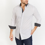 Horace Button Up // White (M)