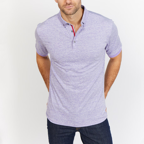 Mason Polo Shirt // Lilac (S)