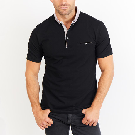 Henry Polo Shirt // Black (S)