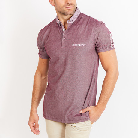 Caleb Polo Shirt // Purple (S)