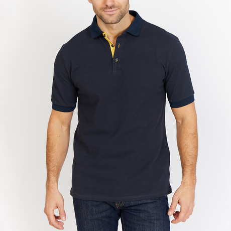 Hunter Polo Shirt // Navy (S)