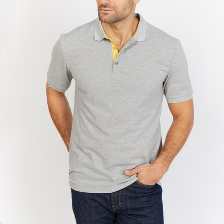Eli Polo Shirt // Light Gray (S)