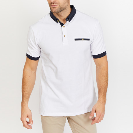Jonathan Polo Shirt // White (S)