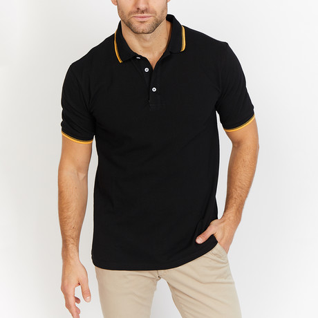 Hudson Polo Shirt // Black (S)