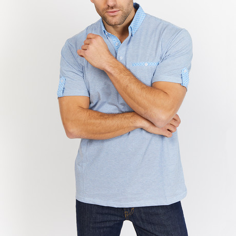 Robert Polo Shirt // Blue (S)
