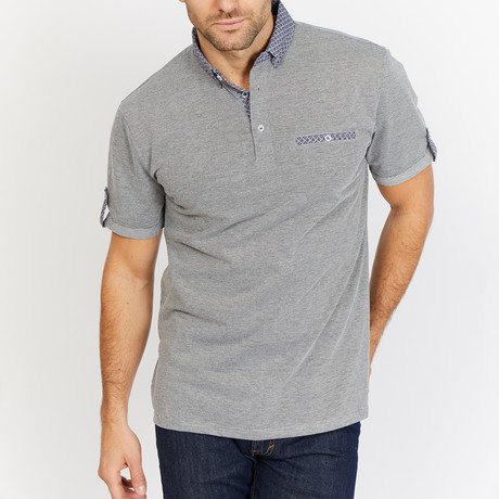 Manny Polo Shirt // Gray (S)