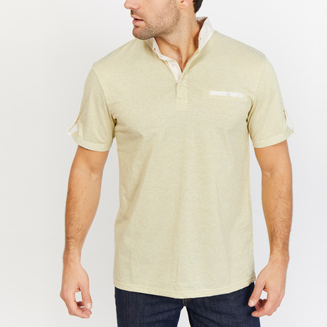 Dyson Polo Shirt // Yellow (S)