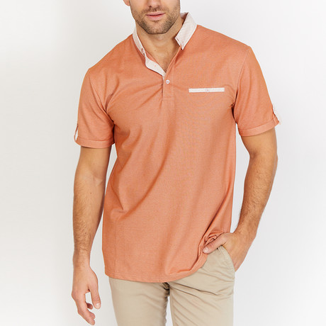 Roman Polo Shirt // Orange (S)