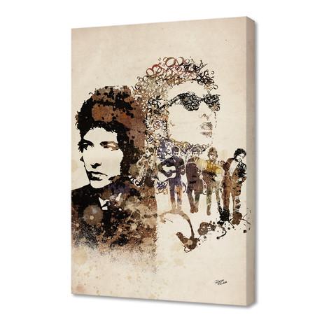 """Bob Dylan (16""""W x 24""""H x 1.5""""D)"""