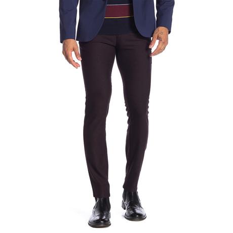 Trenton Stretch Comfort Pants // Burgundy (30WX32L)