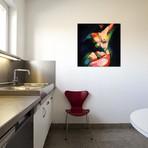 "Cubistic Nude VIII // Corné Akkers (18""W x 18""H x 0.75""D)"