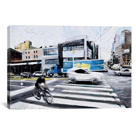 "On The Road // Piero Manrique (18""W x 26""H x 0.75""D)"