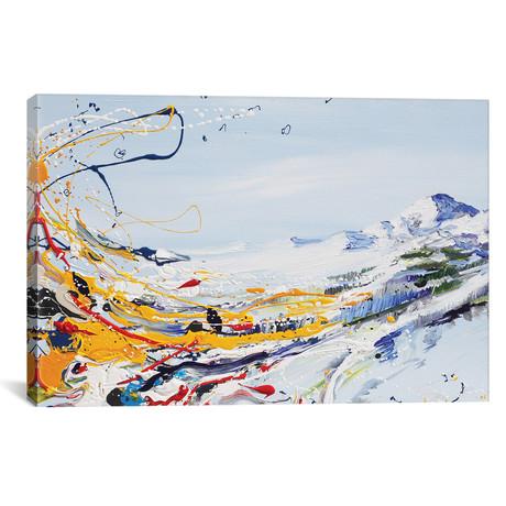 "Mystical Mountain // Piero Manrique (18""W x 26""H x 0.75""D)"