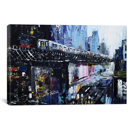 """Subway // Piero Manrique (18""""W x 26""""H x 0.75""""D)"""
