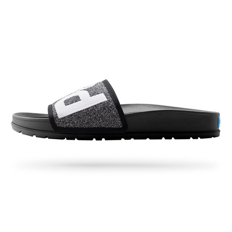 Lennon Slide Knit // Heathered Black (US: 7)
