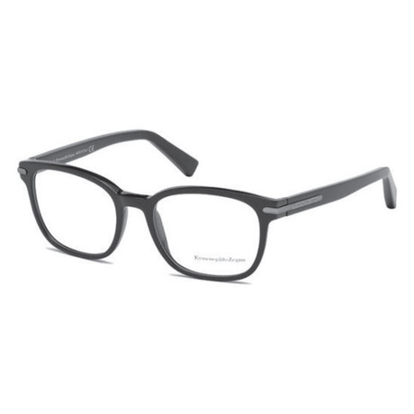 Ermenegildo Zegna // Men's EZ5032-001 Eyeglasses // Shiny Black