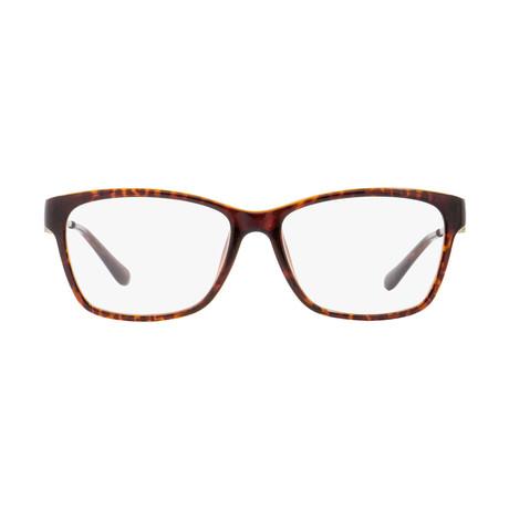 Ferragamo // Women's Modified Rectangle Eyeglass Frame // Tortoise