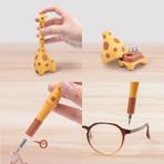 Giraffe Home Precision Screwdriver (Yellow)