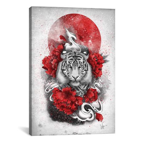 """White Tiger // Marine Loup (18""""W x 26""""H x 0.75""""D)"""
