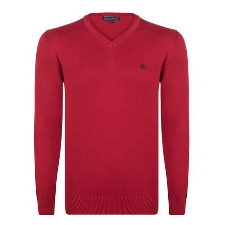 Chandler Sweater // Bordeaux (S)