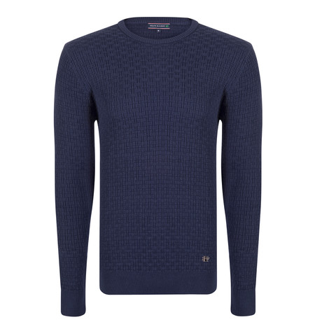 Miguel Pullover // Navy (XS)