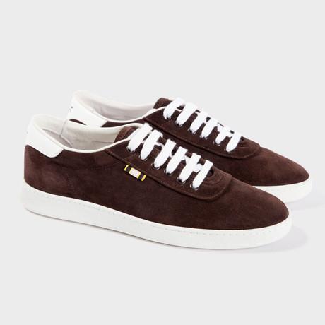 Suede Low Sneaker // Ebony (Euro: 40)