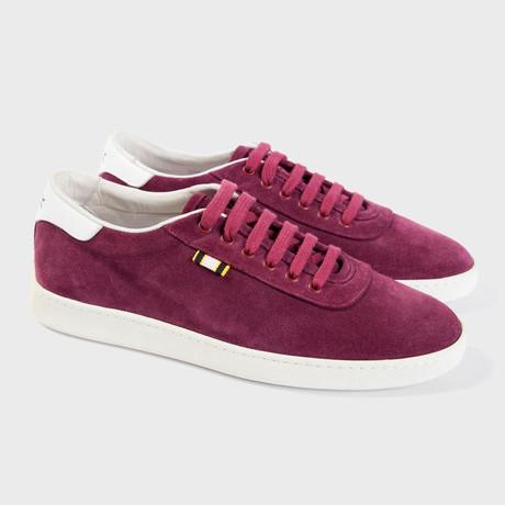 Suede Low Sneaker // Port (Euro: 40)
