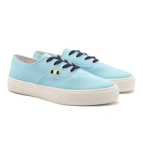 Canvas Sneaker // Aqua (Euro: 40)