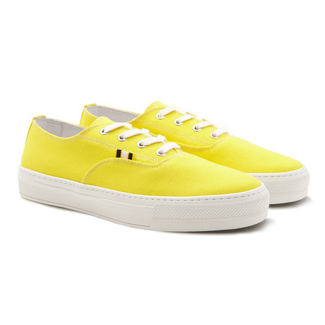 Canvas Sneaker // Yellow (Euro: 40)