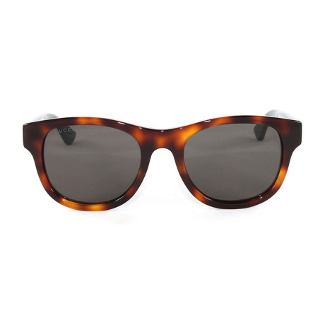 Men's GG0003S Sunglasses // Avana + Green + Red