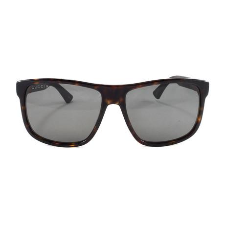 Men's GG0010S Sunglasses // Havana
