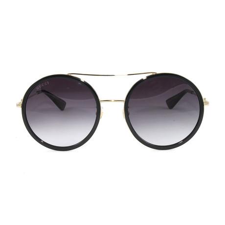 Men's GG0061S Sunglasses // Gold + Black