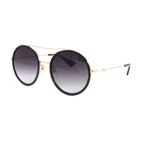 Men's GG0061S Sunglasses // Gold + Black