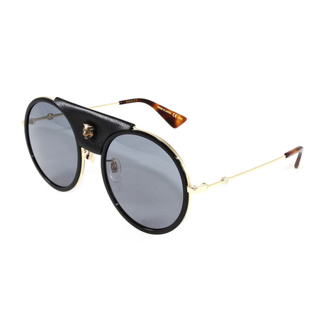 Gucci // Men's GG0061S Sunglasses // Gold