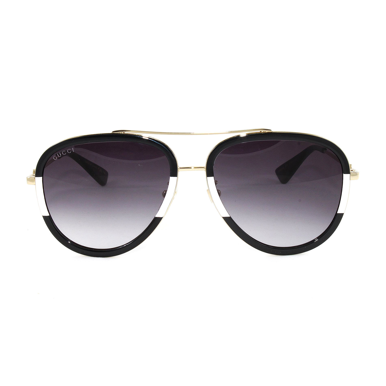a14a417fbe C2fec344bf5f1fd24b71eb833aab146d medium · Men s GG0062S Sunglasses    Gold  + Black Ivory