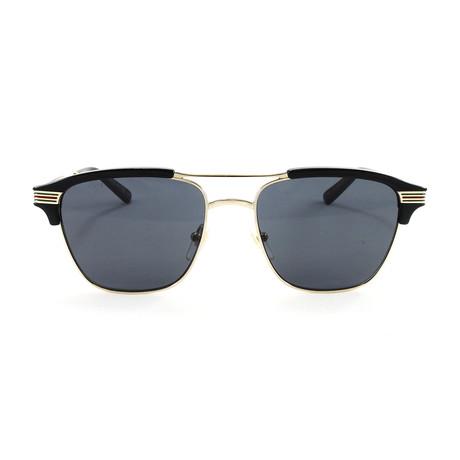 Men's GG0241S Sunglasses // Gold + Black