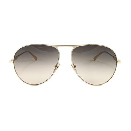 GG0334S Sunglasses // Gold