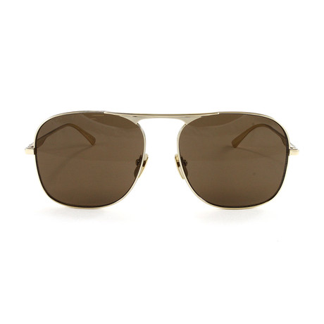 Men's GG0335S Sunglasses // Gold