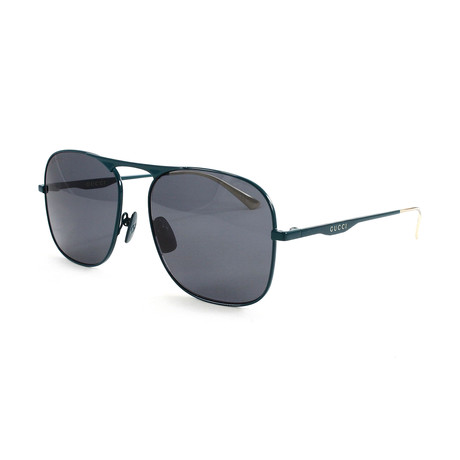 Men's GG0335S Sunglasses // Green