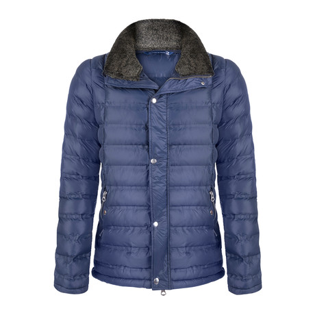 Cristian Winter Coat // Navy (S)