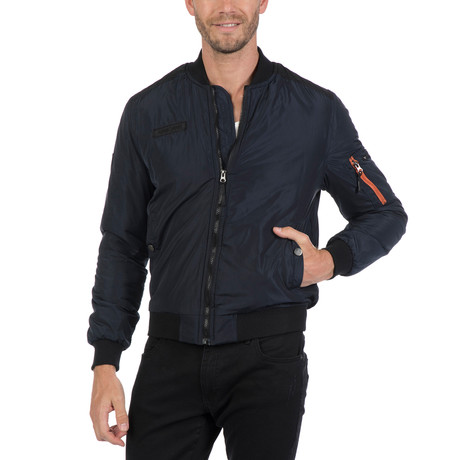 Alessio Winter Coat // Navy (S)