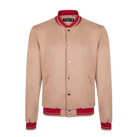 Giovanni Spring Nubuck Jacket // Bone (S)