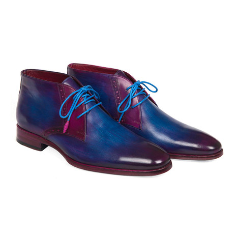 Chukka Boots // Blue + Purple (Euro: 37)