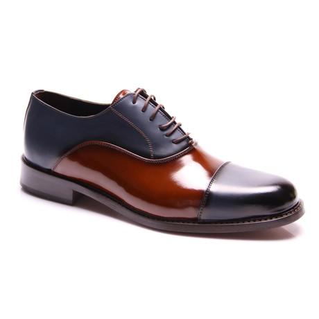 Pablo Oxford Dress Shoes // Dark Blue (Euro: 39)