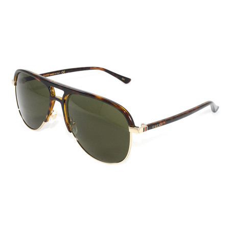 Men's GG0292S Sunglasses // Havana