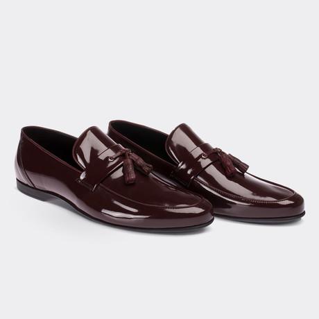 Melvin Loafer Moccasin Shoes // Claret Red (Euro: 38)