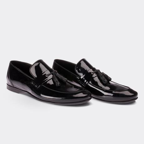 Camryn Loafer Moccasin Shoes // Black (Euro: 38)